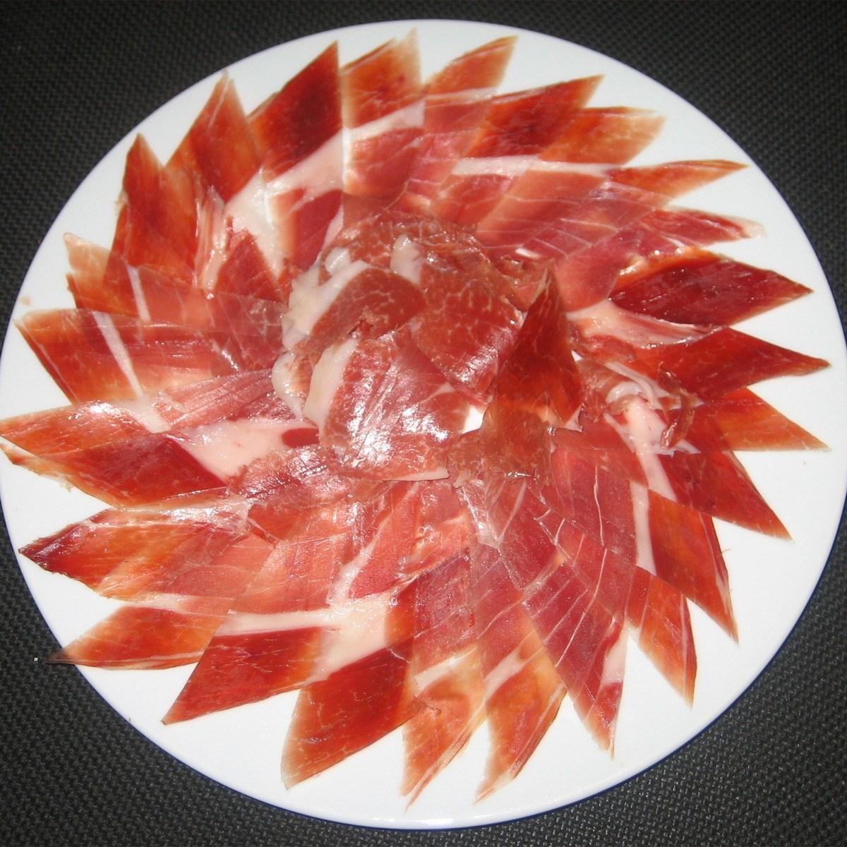 Comprar jam n ib rico de bellota quercus comejamon - Platos con jamon iberico ...