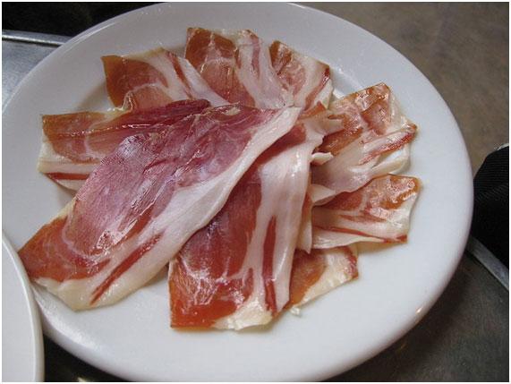 Presencia de grasa en el jamón serrano. Por Comejamón.